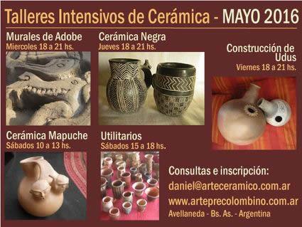 Arte ceramico precolombino cursos de ceramica con for Municipalidad de avellaneda cursos